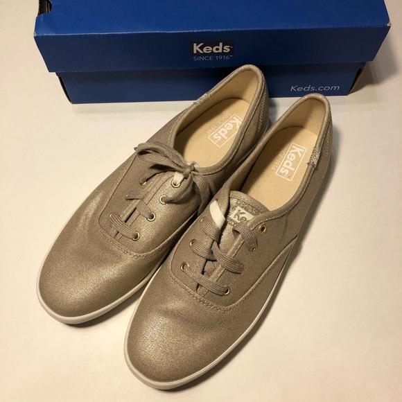 7e1974e2ecf Keds women s champion oxford gold 10 sneakers